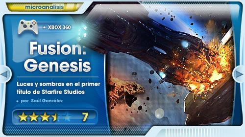 Starfire Studios comienza su viaje por el Universo del videojuego  [Análisis de Fusion: Genesis para Xbox 360]