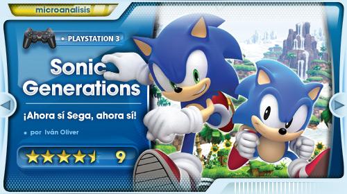 El mejor Sonic de la última década [Análisis PlayStation 3]
