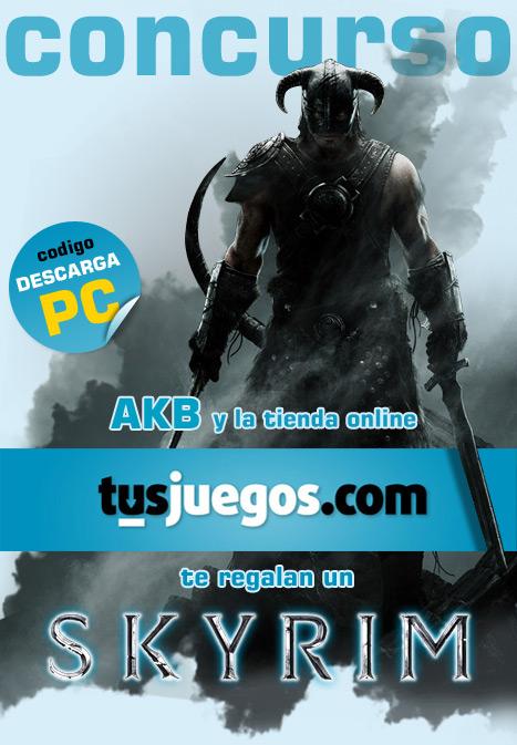 Gana un Skyrim para PC gracias a Tus Juegos y AKB