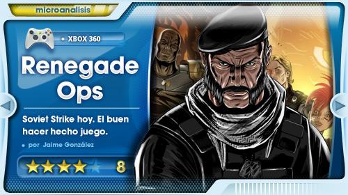 Análisis Renegade Ops: Soviet Strike hoy. El buen hacer hecho juego.