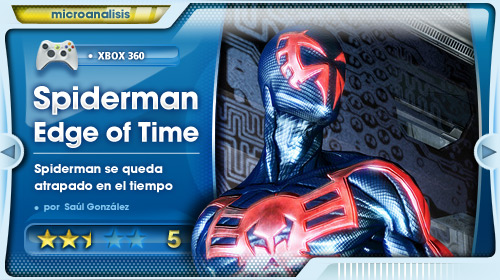A Spider-man le falla el lanzarredes [Análisis de Spider-man Edge of Time para Xbox 360]