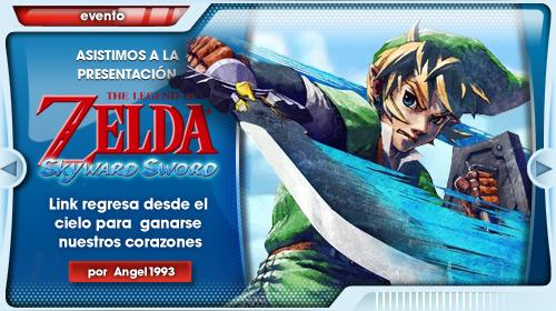 Link celebra su 25 aniversario salvando a Zelda una vez más… Desde el cielo