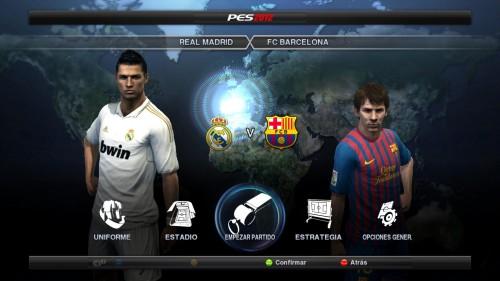 Disputa tu propio Clásico en la copa online que PES 2012 te ha preparado para esta tarde