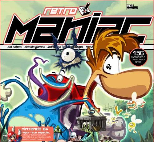 Adictos al pixel y a lo retro ¡Retro Maniac nº 5 ya está disponible!