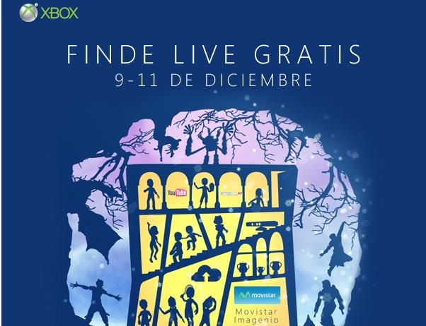 Xbox Live Gold por la patilla durante este fin de semana