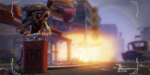 Epic se ha inspirado en Minecraft para desarrollar Fortnite