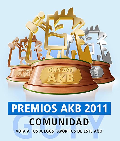 Escoge los GOTYs 2011 de la Comunidad AKB