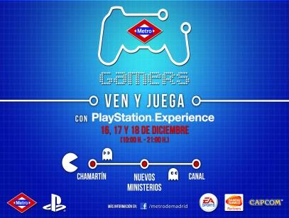 Si vivís en Madrid no os podéis perder Metro Gamers 2011 ¡Va a ser una pasada!