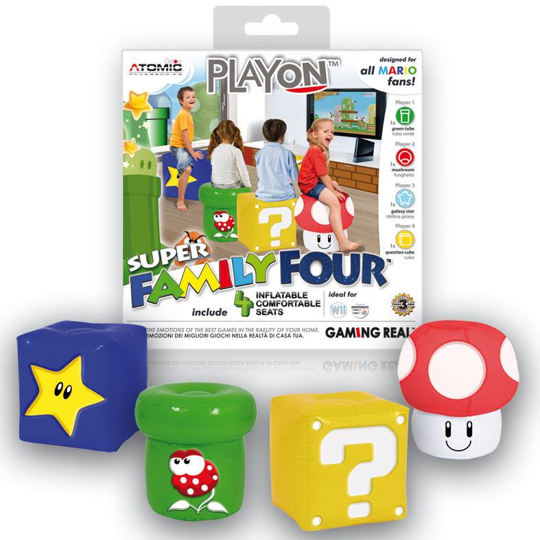 Siéntete Mario mientras juegas a tu consola favorita