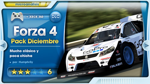 December IGN Pack para Forza Motorsport 4 [Análisis Xbox 360]