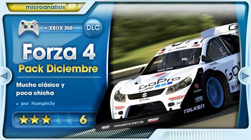 December IGN Pack para Forza Motorsport 4 [Análisis Xbox 360]