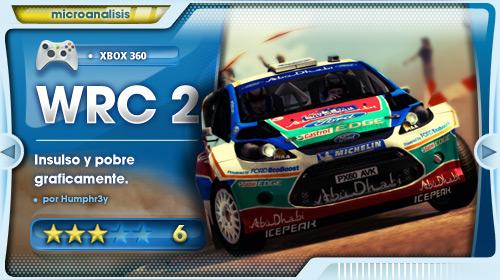 WRC 2 es un juego insulso y pobre gráficamente [Análisis Xbox 360]