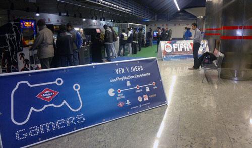 Una vuelta por el Metro gamers 2011