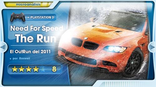 El OutRun de 2011 [Análisis Need for Speed: The Run]