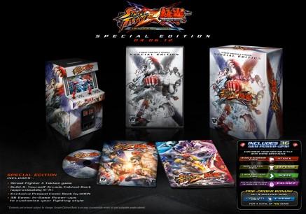 La Edición de  Coleccionista de Street Fighter Vs Tekken estará disponible en España