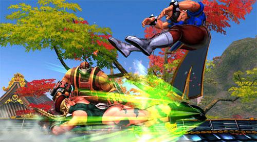 """Lucha de """"jatas"""" en Street Fighter x Tekken"""