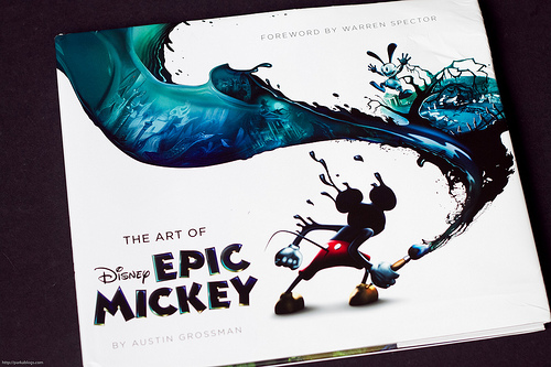 The Art of Epic Mickey, simplemente maravilloso