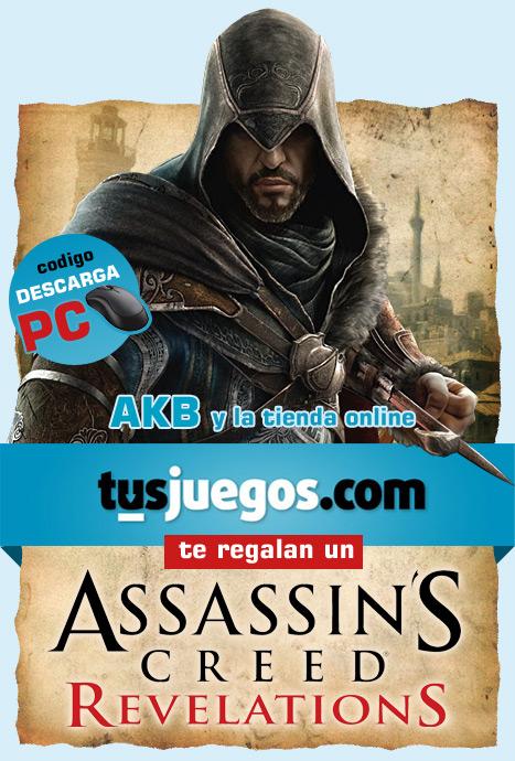¿Assassin's Creed Revelations te pone palote pero no tienes un duro? Descárgatelo gratis para PC gracias a Tus Juegos y AKB
