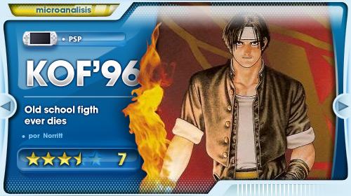 Análisis de King Of Fighters '96 para PSP