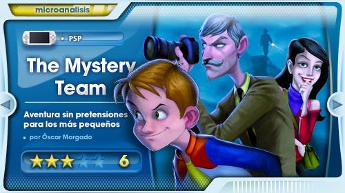 Una aventura para los más pequeños de la casa [Análisis The Mystery Team para PSP]