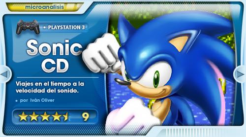 Enfréntate al pasado y salva el futuro [Análisis Sonic CD]