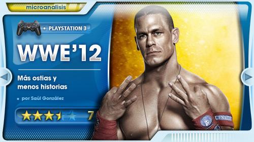 Más grande, más malo, mejor [Análisis de WWE '12 para PlayStation 3]