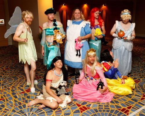 cosplay grupo gay
