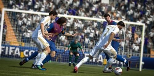 FIFA 12 en PS Vita viene chutando fuerte