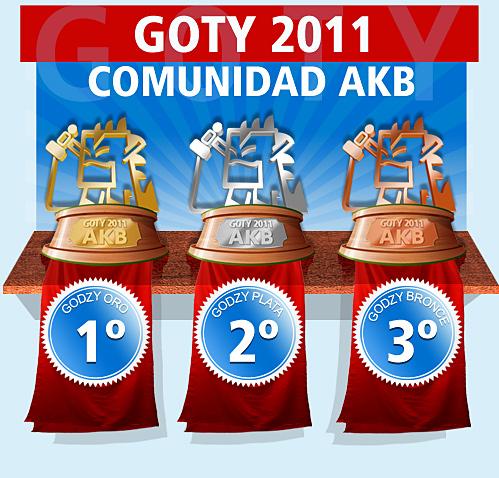 La Comunidad AKB dicta sentencia. Sus GOTYs 2011 son para…