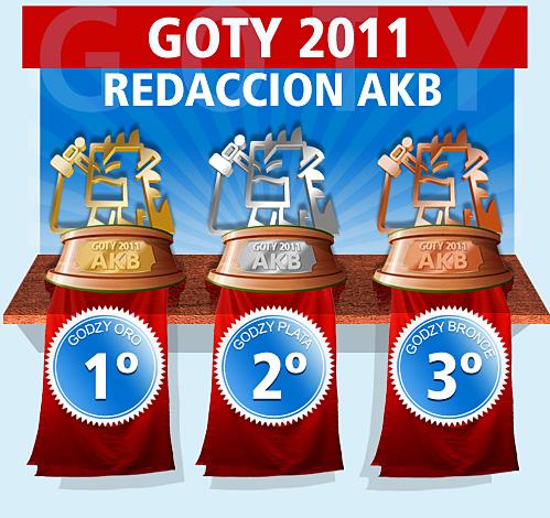 Los GOTYs 2011 de la Redacción de AKB