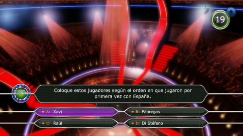"""Fútbol y música para """"¿Quién quiere ser millonario?"""""""