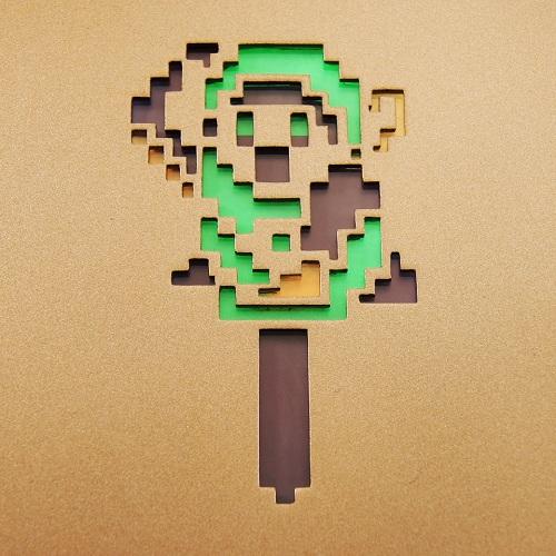 """Espectacular NES """"tuneada"""" con Zelda"""