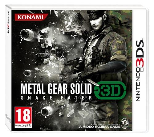 Metal Gear Solid: Snake Eater 3D ya tiene fecha de lanzamiento oficial