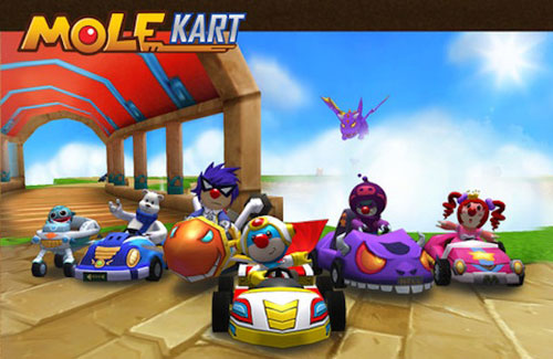 Mole Kart. El clon de Mario kart para iPhone