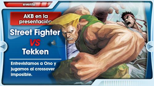 Yoshinori Ono nos descubre todos los secretos de Street Fighter x Tekken. O casi.