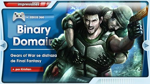 «Binary Domain puede ser el primer sleeper del 2012» [Impresiones para Xbox 360]