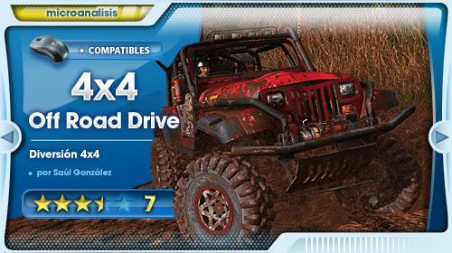 Vive la competición más extrema y divertida [Análisis de Off-Road Drive para PC]