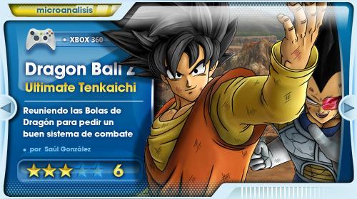 Un anime interactivo más que un juego de lucha [Análisis de Dragon Ball Z Ultimate Tenkaichi para Xbox 360]