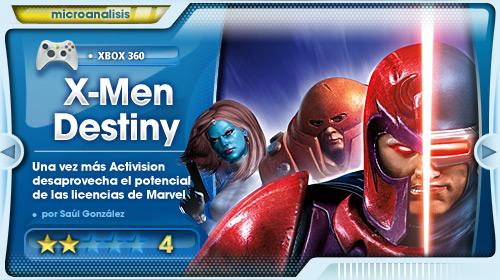 Destino: A la basura [Análisis de X-Men Destiny para Xbox 360]