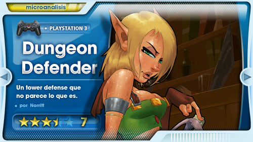 Análisis de Dungeon Defender para PS3