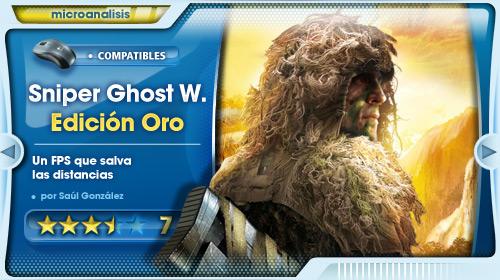 Dispara, recoge y vuelve a la sombra  [Análisis Sniper Ghost Warrior Edición Oro para PC]