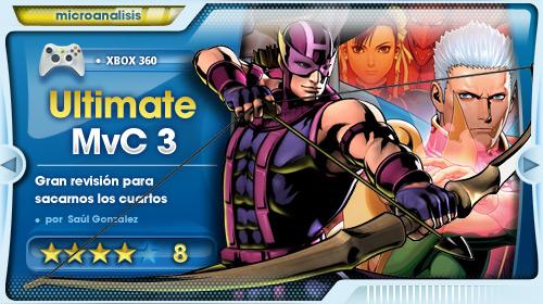 Un gran juego de lucha y un gran sacacuartos  [Análisis de Ultimate Marvel vs. Capcom 3 para Xbox 360]