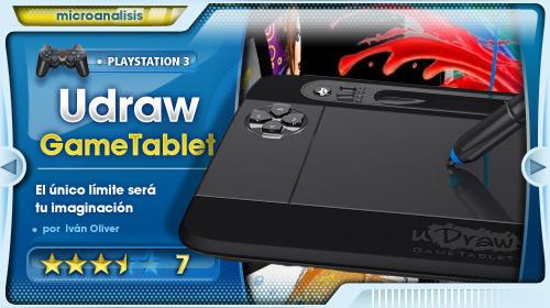Crea, comparte y juega [Análisis Udraw Game Tablet para PS3]