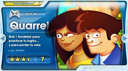 «Risk+Scrabble es una apuesta segura» [Análisis de Quarrel para Xbox 360]