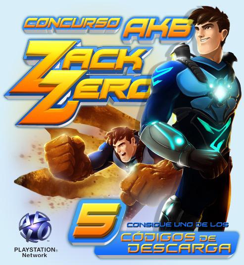 ¿Quieres Zack Zero, el juego del momento, totalmente gratis? ¡Crocodile Entertainment y AKB regalamos 5!