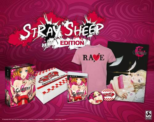 Unboxing de la genial Stray Sheep Edition de Catherine