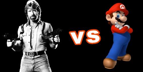 Esto es lo que pasa cuando Chuck Norris invade Super Mario