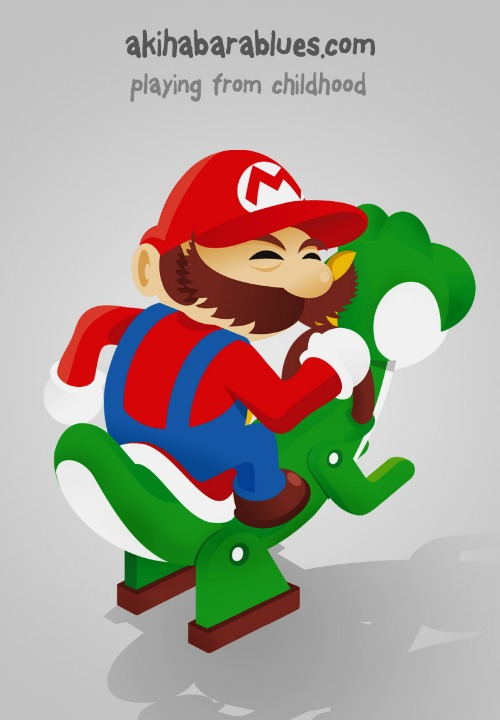 Super Mario AKB Style by Roswell