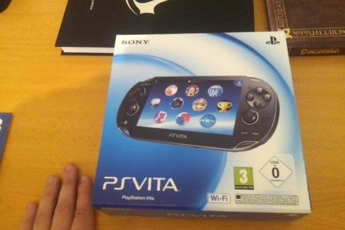 El poder en mis manos [Unboxing de PS Vita]