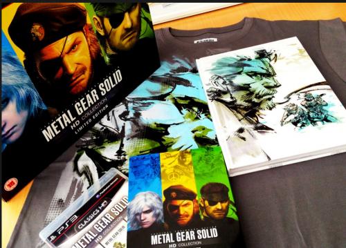Kojima presume de Edición Limitada de Metal Gear Solid HD Collection